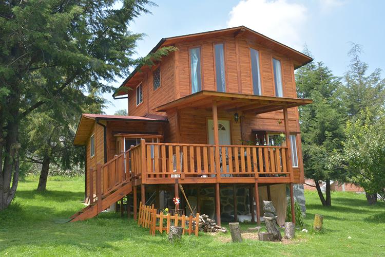 Promueven el uso de casas de madera ntr guadalajara - Casas prefabricadas guadalajara ...