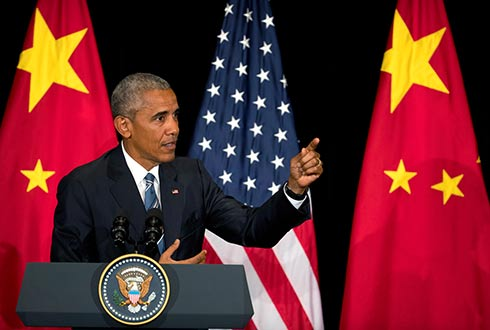 Obama comienza con irregularidad una visita en China