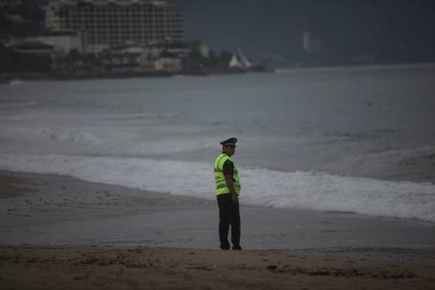 Protección Civil vigila costas de Jalisco por tormenta tropical
