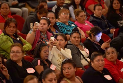 Miranda Nava llama a denunciar condicionamiento de apoyos