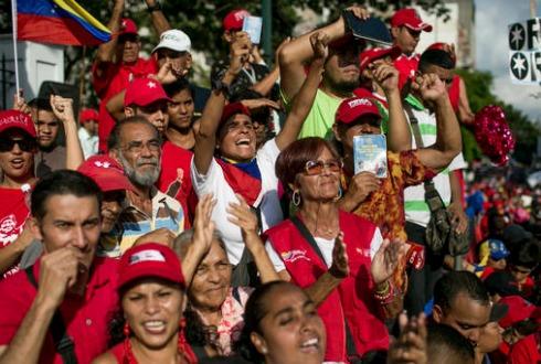 Jornada de marchas de la oposición en Venezuela