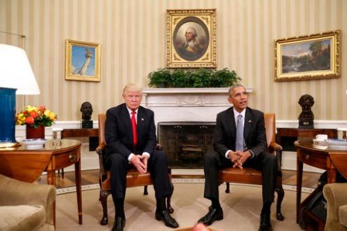 El presidente invitó a Trump