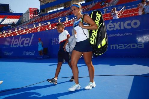 Mónica Puig avanza a cuartos de final en Acapulco