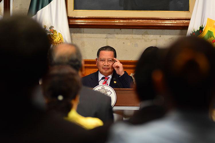 Detención de exgobernador interino de Veracruz, propaganda: AMLO