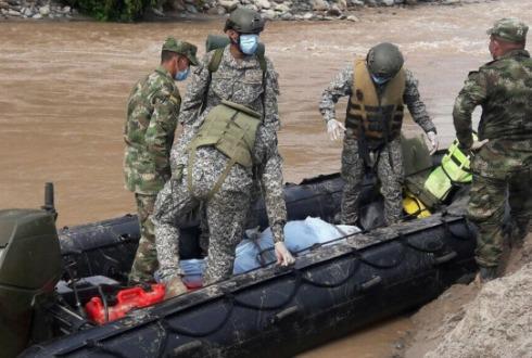 Aumentan a 254 los muertos en Colombia
