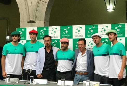 México se va arriba en la Copa Davis