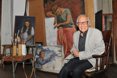 Secretaría de Cultura está abierta para rendir homenaje a García Bustos