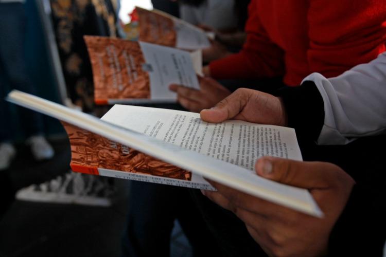 Celebran Día Mundial del Libro con inclusión