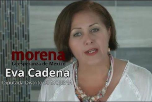Pide Fepade, desaforar a diputada Eva Cadena