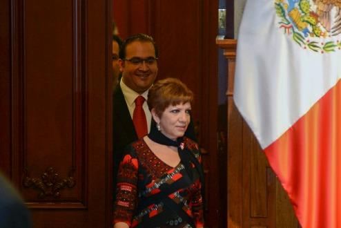 Exvocera de Javier Duarte es detenida en Veracruz