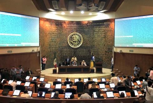 Congreso de Jalisco recorta financiamiento a partidos