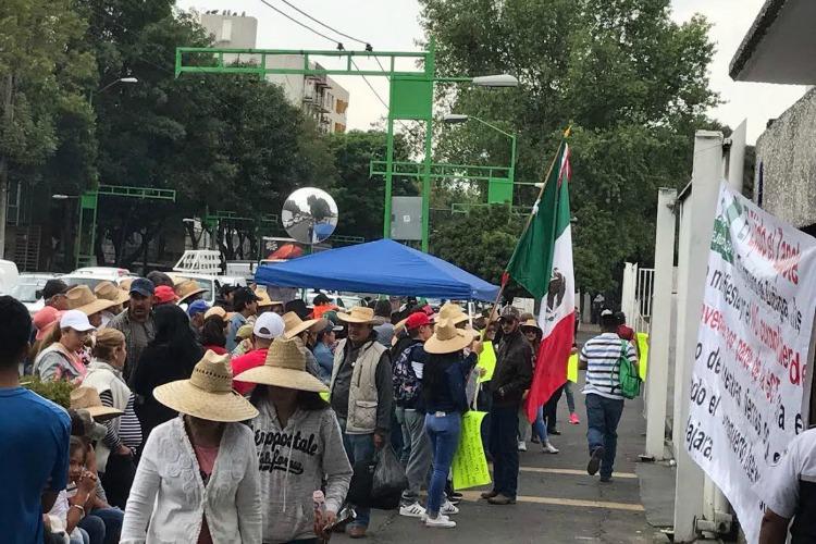 SCT impide el diálogo, acusan ejidatarios de El Zapote