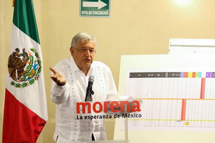 Morena impugna los 45 distritos del Edomex: AMLO