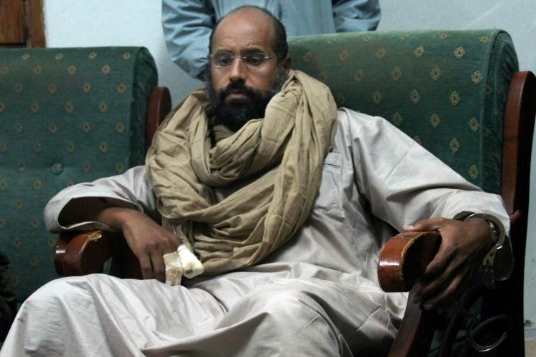 Hijo de Muhammar Gadafi es liberado de prisión