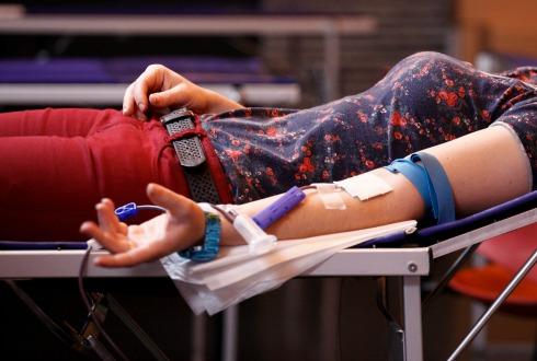 Alientan a la donación de sangre