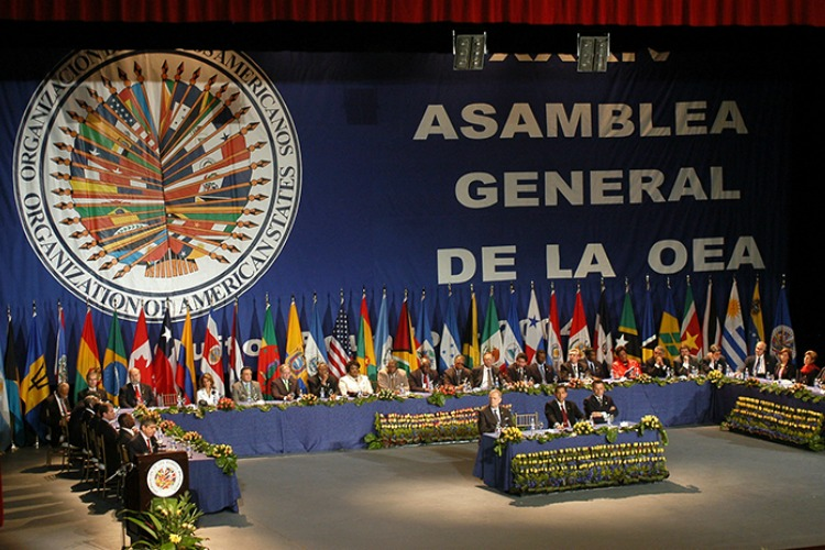 Comienza la reunión de cancilleres de la OEA sobre Venezuela