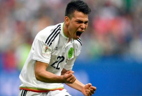 Hirving Lozano quiere jugar contra Chile las semifinales