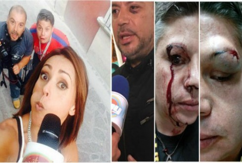 Golpean a reportera de Televisa entre 20 sujetos