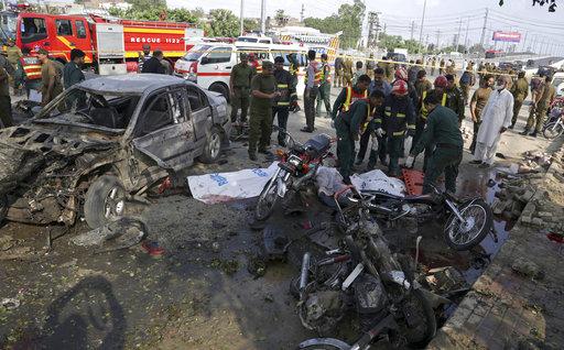 Explosión en Pakistán deja 26 muertos
