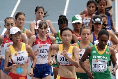 Karen Gallardo clasifica al Mundial de Atletismo en Londres