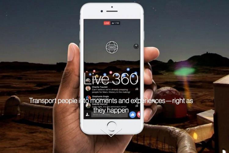 Actualización para Facebook Live permitirá 360º y 4K