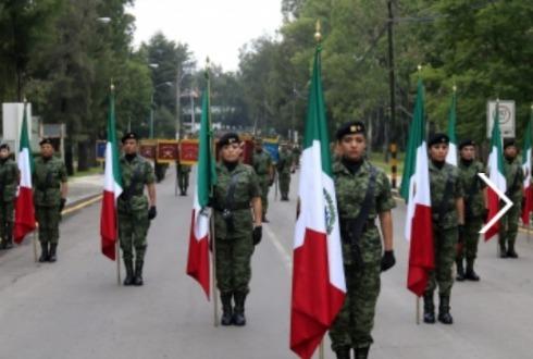 A qué hora inicia el desfile militar del 16 de septiembre