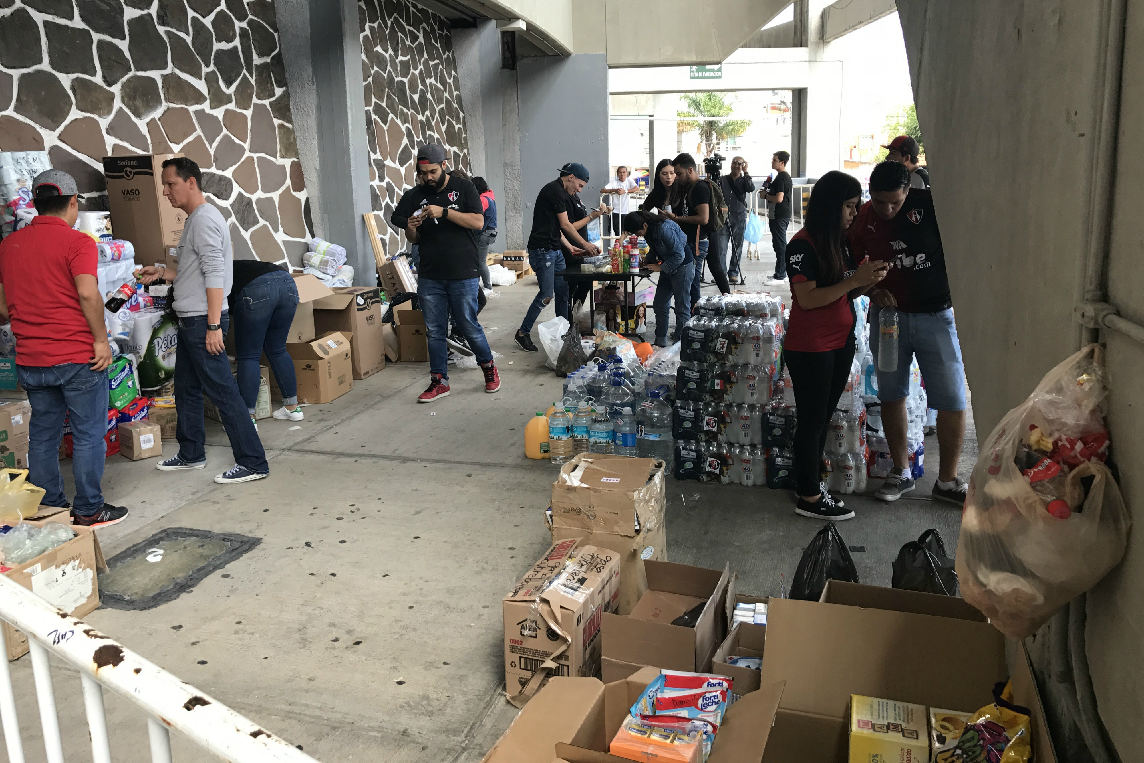 Fraga no encuentra a sus familiares tras el sismo