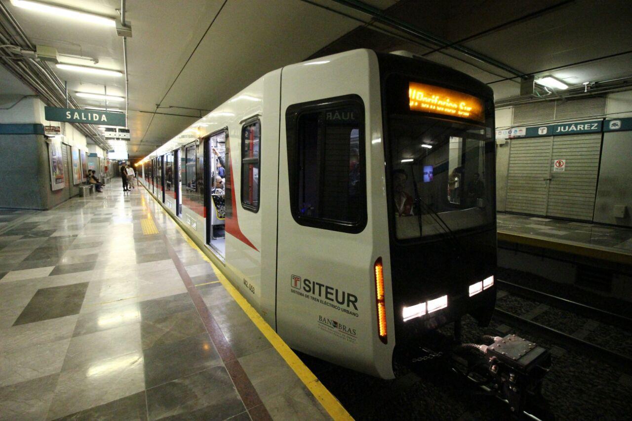 Entran en servicio nuevo Tren Eléctrico Urbano en Guadalajara