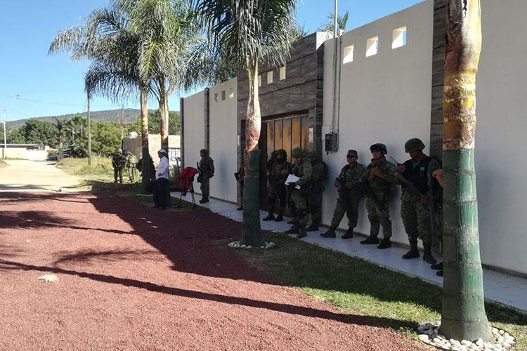 Aseguran fábrica de galletas de mariguana en Ixtlahuacán del Río