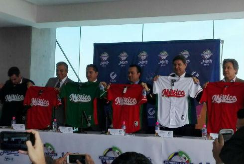 Presentan jersey de México para Serie del Caribe 2018