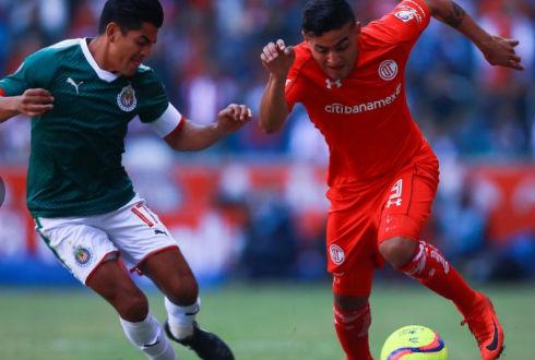 Toluca y Chivas reparten puntos