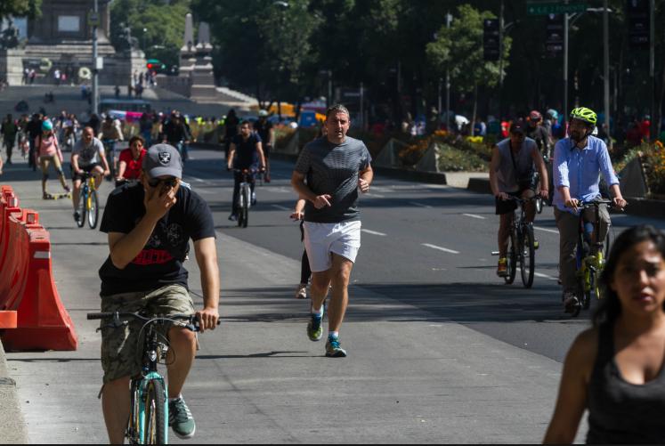 Solo el 42.4% de los mexicanos se ejercita: Inegi