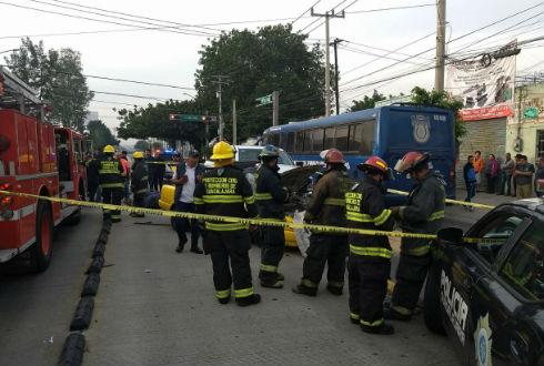 Muere taxista en choque con vehiculo de Fiscalia en Guadalajara