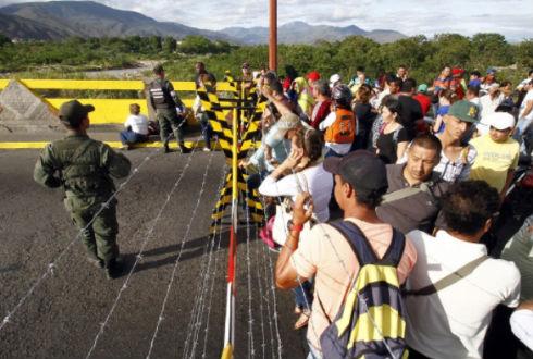 Colombia habilita primer albergue temporal para venezolanos en la frontera