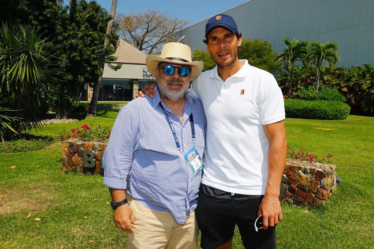 Rafael Nadal debutará ante Feliciano López en Abierto Mexicano