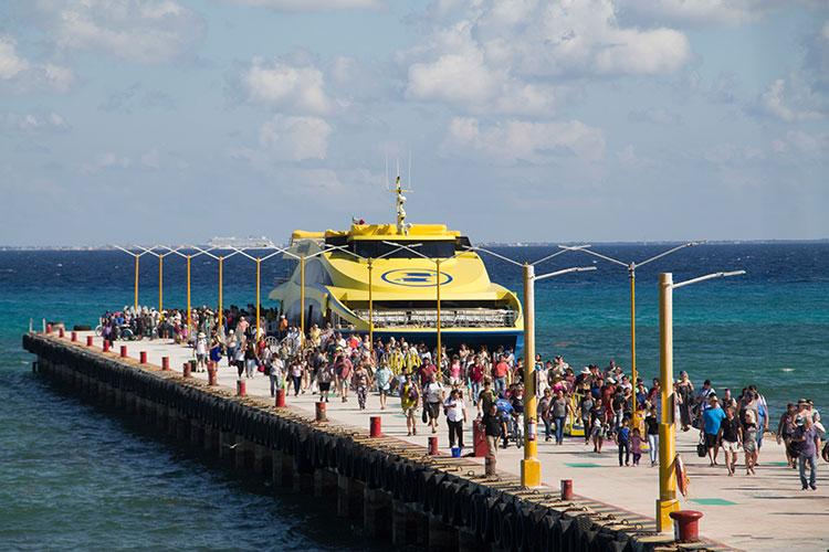 Barcos Caribe rechaza autoatentado en ferry