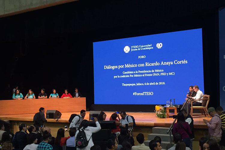 México debe formar un solo frente, asegura Anaya en Veracruz