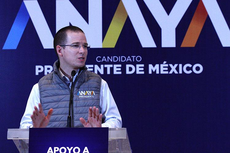 Acusa el PRI al gobierno de Durango de ayudar a Anaya
