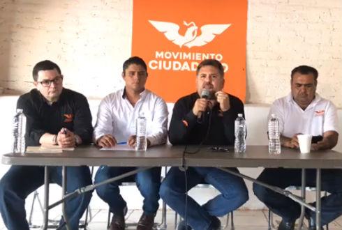 Balean a integrantes de Movimiento Ciudadano en Jalisco