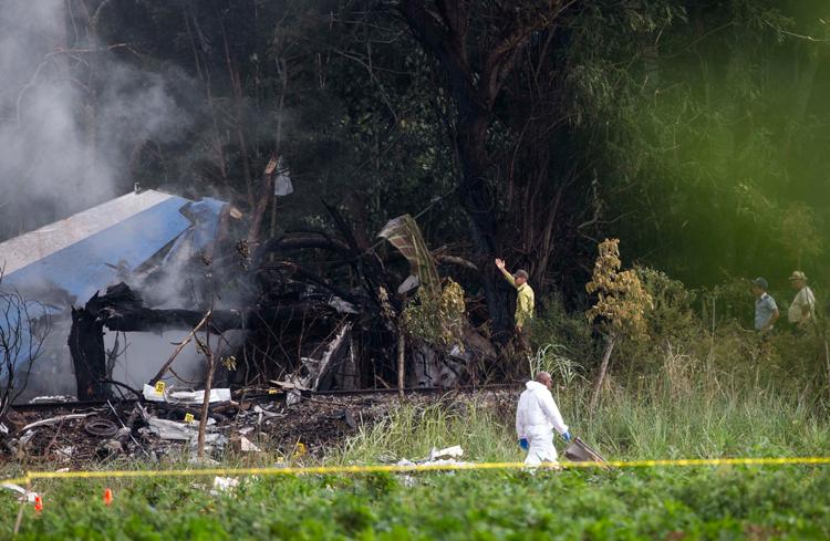 Error humano, accidente de Cubana de Aviación