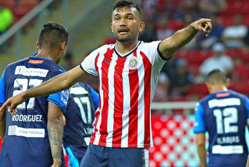 Hedgardo Marín, jugador de las Chivas, sufre aparatoso accidente