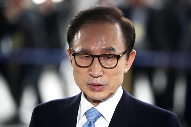 Expresidente de Corea del Sur es condenado a 15 años de prisión