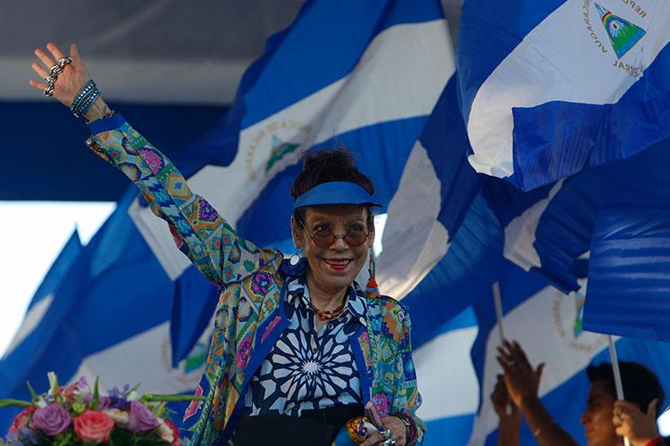 Sanciona a la vicepresidenta y primera dama Nicaragua y un asesor