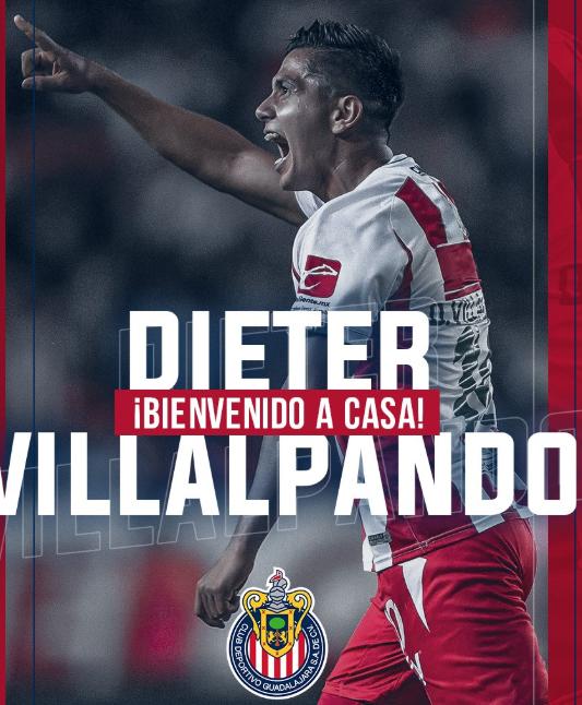 Dieter Villalpando, nuevo refuerzo de Chivas