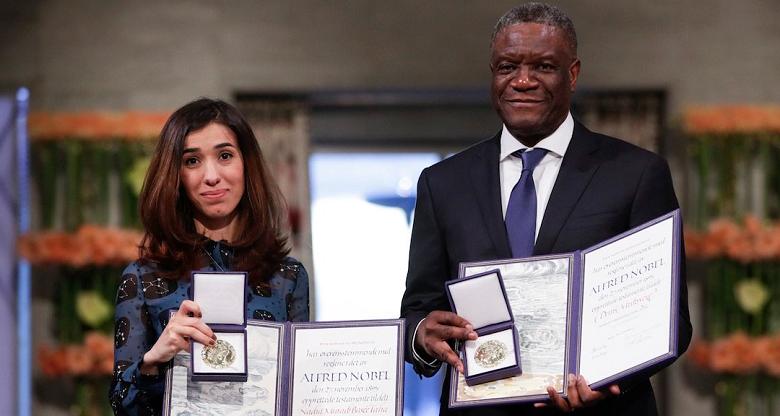 Los Nobel de la Paz piden un fondo contra la violencia sexual
