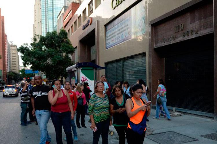 Mundo: Un sismo de 4.9 grados sacudió a Venezuela