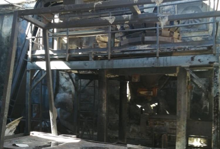 Bodega de chiles de Tajín se incendia