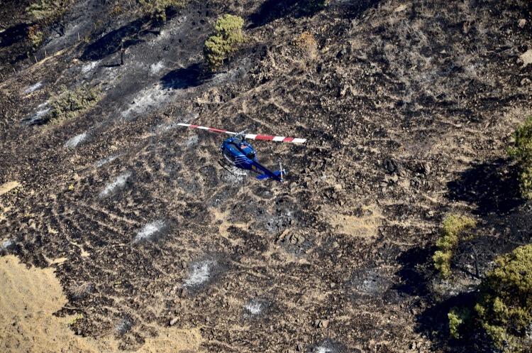 Liquidan incendio en Los Volcanes dentro de La Primavera