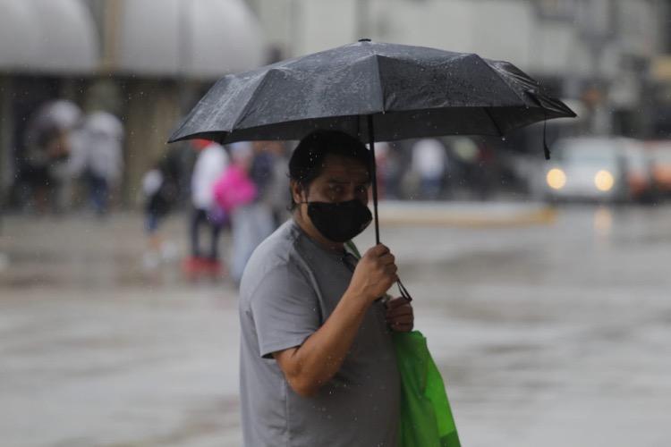 Incrementarán lluvias en Jalisco por 'Dolores'