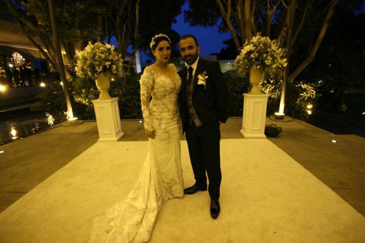Vicente Fernández Jr. se casa por tercera vez